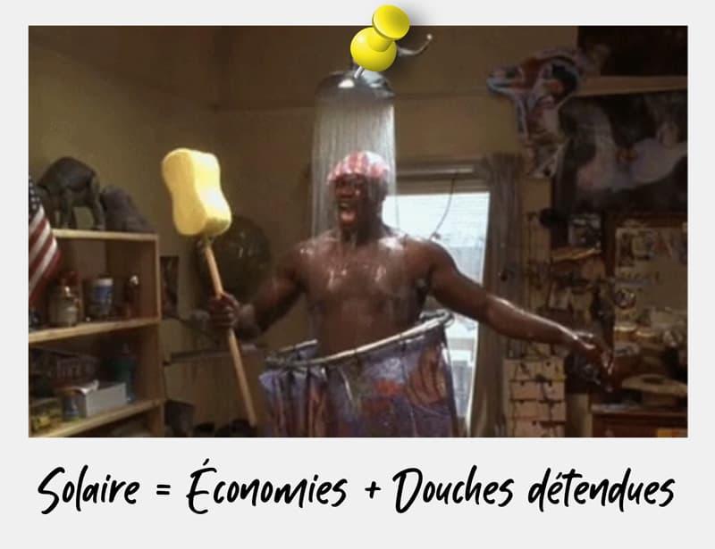 Economies chauffage solaire